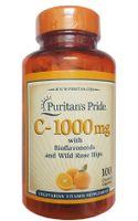 Vitamin C Puritan's Pride 1000mg Của Mỹ Hộp 100 Viên