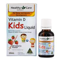Vitamin D dạng nước cho trẻ Healthy Care Kids Liquid 20ml