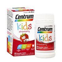 Viên nhai vitamin tổng hợp cho trẻ em Centrum Kids Strawberry