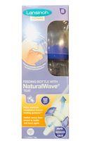 Bình sữa Lansinoh MOmma núm ty NaturalWave của Mỹ
