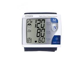 Máy đo huyết áp cổ tay Citizen CH-608 của Nhật