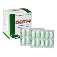 Calvit-D - Viên uống bổ sung canxi và vitamin D3