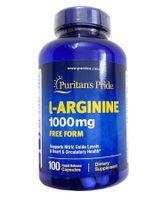 Viên uống giải độc gan Puritan's Pride L-Arginine 1000mg