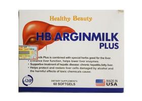 HB Arginmilk Plus - hỗ trợ tăng cường chức năng gan