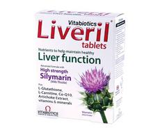 Vitabiotics Liveril - Viên giải độc gan, tăng cường sức khỏe