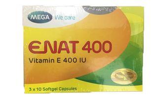 Vitamin E Enat 400 cho làn da căng mọng, tươi sáng