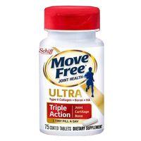 Schiff Move Free Ultra Triple Action hộp 75 viên của Mỹ