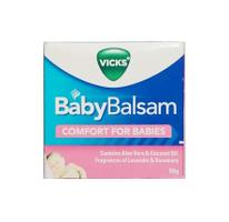 Dầu bôi cho bé Vicks Baby Balsam 50g chính hãng Úc