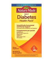 Viên uống Nature Made Diabetes Health Pack chính hãng của Mỹ