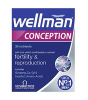 Vitamin Wellman Conception hỗ trợ sức khỏe sinh sản nam giới