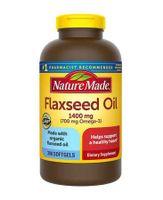 Dầu hạt lanh Nature Made Flaxseed oil 1400 mg hộp 300 viên