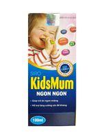 Kidsmum Ngon Ngon- Siro dành cho trẻ biếng ăn 100ml