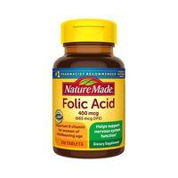 Viên Hỗ Trợ Bổ Sung Acid Folic 400mcg Nature Made 250 Viên