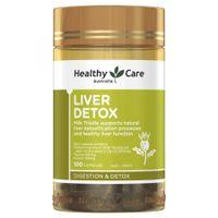 Liver Detox Healthy Care 100 viên của Úc