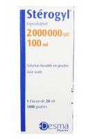 Vitamin D Sterogyl 100ml cho bé từ 0-18 tháng của Pháp