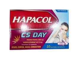 Thuốc Hapacol Cs Day- Trị sốt, sổ mũi, sưng huyết mũi