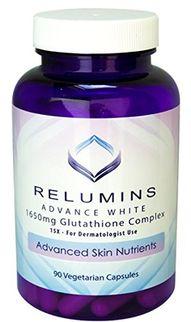 Viên uống hỗ trợ trắng da Relumins Advance White