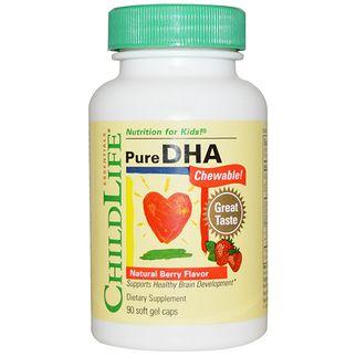 ChildLife Pure DHA - Bổ sung DHA cho trẻ từ 6 tháng tuổi