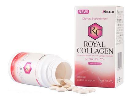 Royal Collagen của Nhật trị nám, tàn nhang, ngừa lão hóa 90v