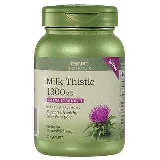 GNC Milk Thistle 1300mg - tăng cường chức năng gan 60 viên