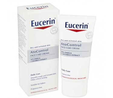 Kem dưỡng giảm viêm ngứa Eucerin Ato Control 12% Omega 50ml