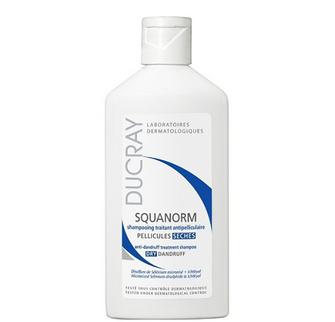 Dầu gội trị gàu khô Ducray Squanorm Shampoo Dry Dandruff