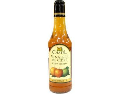 Giấm táo Chatel Vinaigre De Cidre của Pháp 500ml