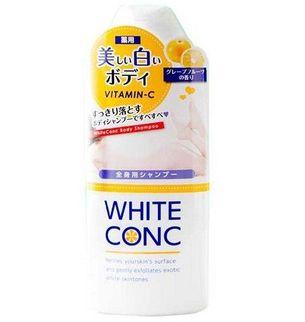 Sữa tắm hỗ trợ trắng da White Conc Body Nhật Bản