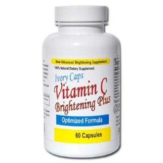 Ivory Caps Vitamin C Brightening Plus - Trị nám, trắng da