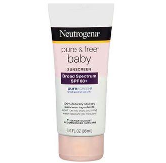 Kem chống nắng cho bé Neutrogena baby SPF 60