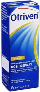 Xịt mũi Otriven 0,05% Đức cho trẻ 2-6 tuổi