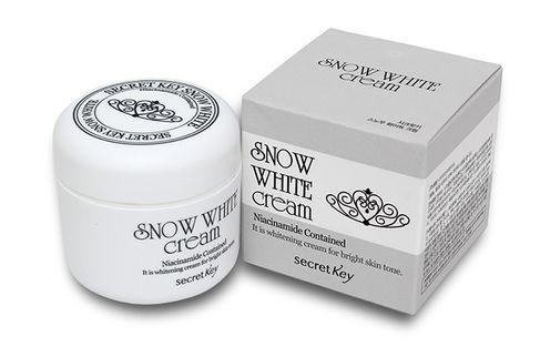 Kem hỗ trợ dưỡng trắng da Snow white Hàn Quốc 50g