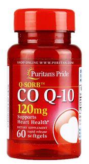 Viên uống bổ tim mạch Puritan's Pride coq10 120mg 60 viên