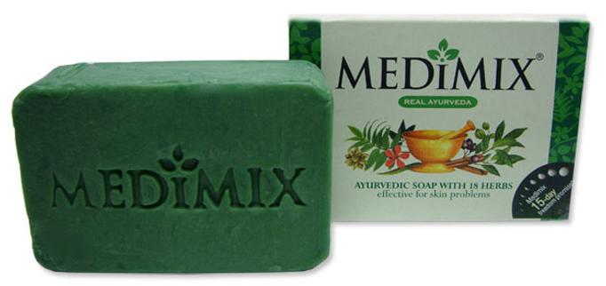 Xà phòng Medimix thảo mộc trị mụn Ấn Độ 125g