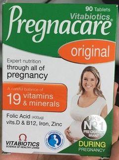 Vitamin cho bà bầu Vitabiotics Pregnacare Original tốt cho mẹ và bé