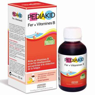 Pediakid Fer + Vitamines B cho trẻ từ 6 tháng của Pháp