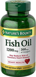 Dầu Cá Omega 3 Nature's Bounty Fish Oil 1200mg