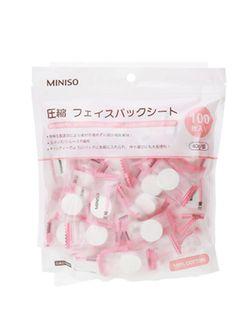 Mặt nạ viên nén Miniso Nhật Bản túi 100 viên