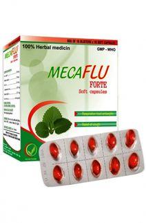 Thuốc Mecaflu Forte- Điều trị đau họng (10 vỉ x 10 viên)