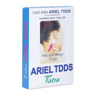 Cao dán chống say tàu xe Ariel TDDS Tatra