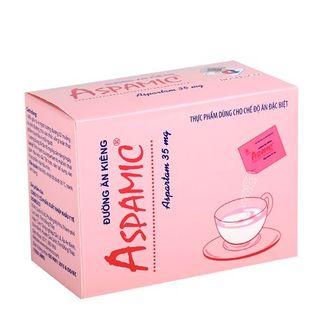 Đường ăn kiêng Aspamic 35mg ( hộp 100 gói x 1g)