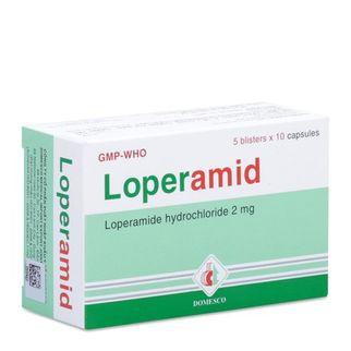 Loperamid trị tiêu chảy cấp không có biến chứng ở người lớn