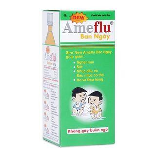 Siro Ameflu Daytime - Siro trị cảm lạnh, cảm cúm thông thường (60ml)