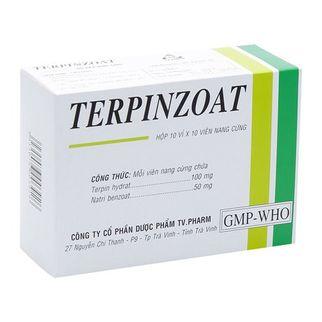 Thuốc điều trị ho, long đờm Terpinzoat 1 vỉ x 10 viên