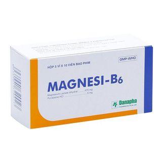 Thuốc điều trị thiếu hụt Magnesi và tạng co giật Magnesi- B6