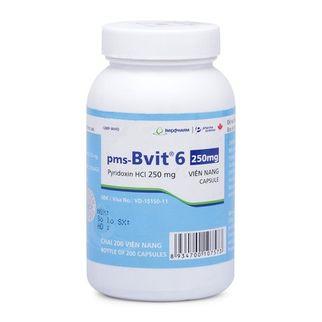 Thuốc điều trị và phòng bệnh thiếu Vitamin B6 PMS- BVIT 6