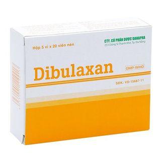 Thuốc giảm đau, kháng viêm Dibulaxan (5 vỉ x 20 viên/ hộp)