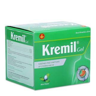Thuốc làm dịu các triệu chứng đau dạ dày Kremil Gel (30 gói)