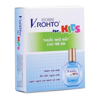 Nước nhỏ mắt Vrohto For Kid- Ngăn ngừa vấn đề về mắt cho bé