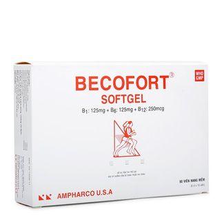 Thuốc phòng & trị sự thiếu hụt các sinh tố nhóm B Becofort